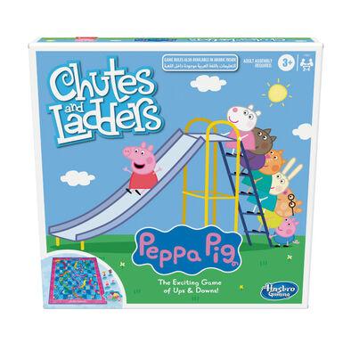Peppa Pig粉紅豬小妹 溜滑梯與爬樓梯小遊戲