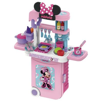 Disney迪士尼 米妮系列 3合1廚房旅行箱