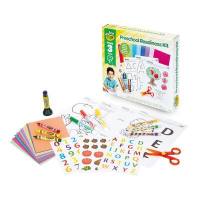 Crayola繪兒樂 幼兒學習大補帖(字母/數字/形狀等)