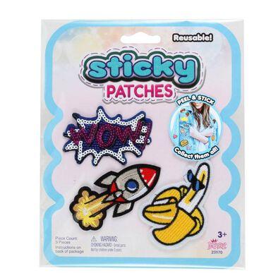 Sticky Patches黏黏補丁 DIY個性紡織布貼