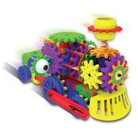 STEM學習齒輪傳動火車