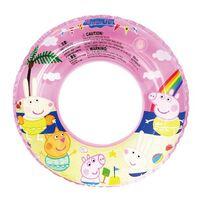 Peppa Pig Peppa Pig粉紅豬小妹50cm泳圈(藍﹒黃)