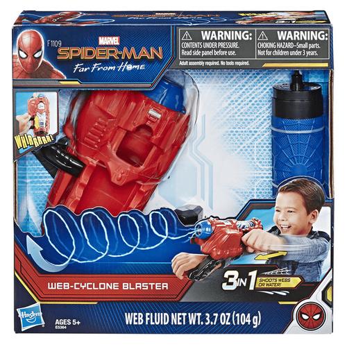 Spiderman Marvel漫威蜘蛛人旋風蜘蛛網發射器