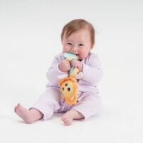 Top Tots天才萌寶 嬰兒安撫玩偶附固齒器- 隨機發貨