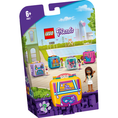 Lego樂高 41671 休閒秘密寶盒-安德里亞與游泳
