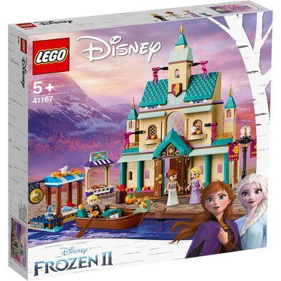 LEGO樂高 DISNEY 41167 Arendelle Castle Village 積木 玩具