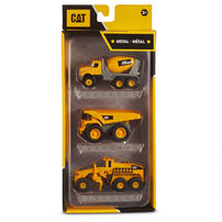 CAT 工程車3入組 - 隨機發貨