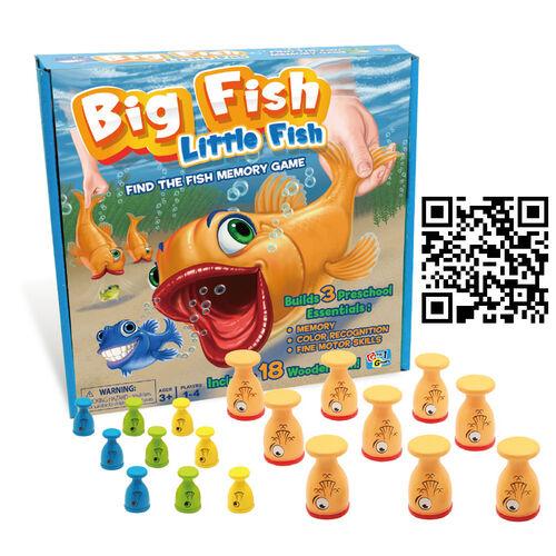 Mattel Games美泰兒遊戲 大魚吃小魚