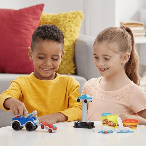 Play-Doh培樂多車輪系列 拖車遊戲組