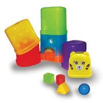 BRU Infant & Preschool小熊寶雲 寶寶疊疊樂玩球趣
