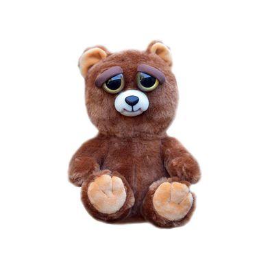 Feisty Pets 淘氣變臉玩偶-棕熊
