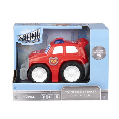 Speed City極速都市 Junior寶寶聲光酷炫小車 - 紅色