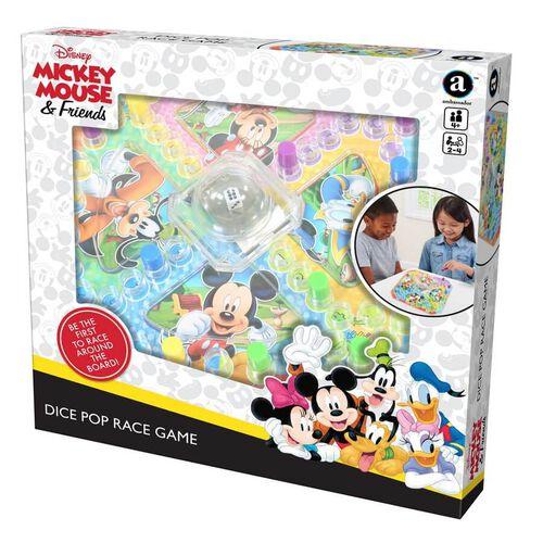Disney迪士尼跳棋競賽桌遊