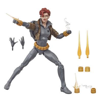 Marvel漫威6吋傳奇人物-黑寡婦灰裝