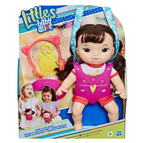 Baby Alive淘氣寶貝 Baby Alive淘氣寶貝 背帶娃娃黑髮