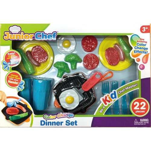 Junior Chef 小廚師 變色晚餐組