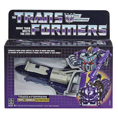 Transformers變形金剛經典g1人物 大火車