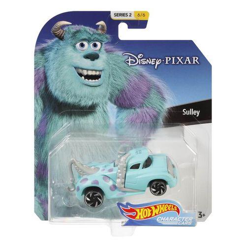 Hot Wheels風火輪迪士尼主要角色合金小車-隨機發貨