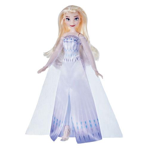 Disney Frozen迪士尼冰雪奇緣2基本人物 艾莎皇后裝