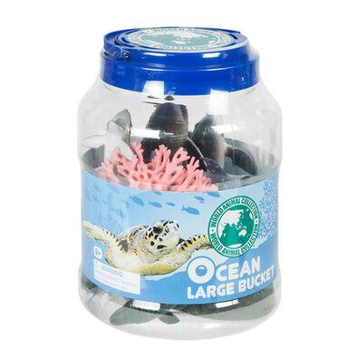 World Animal Collection 20件桶裝海洋生物模型