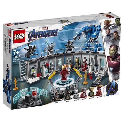 LEGO樂高 復仇者聯盟 系列 76125 Iron Man Hall of Armor 積木 玩具