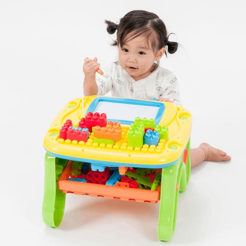 Top Tots天才萌寶 二合一玩具桌