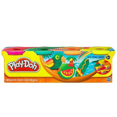 Play-Doh培樂多 四色組補充罐
