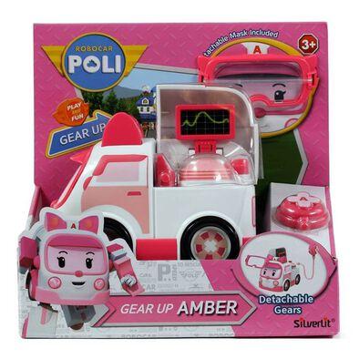 Robocar Poli波力救援小英雄 變裝任務 安寶