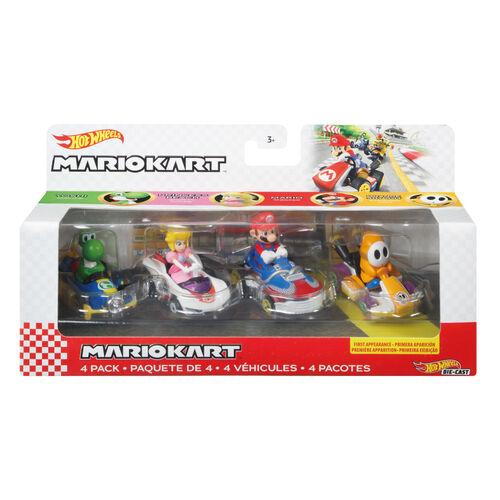 Hotwheels風火輪Mario Kart 4部車