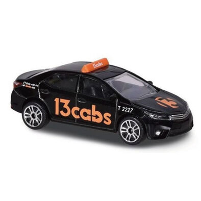 Majorette美捷輪小汽車國際款 - 澳洲計程車(Altis黑)