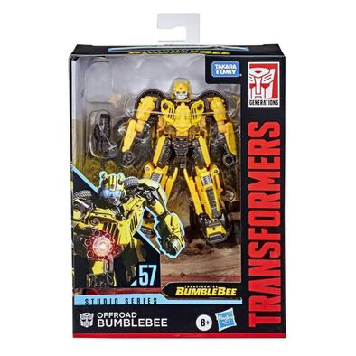Transformers變形金剛世代系列電影版豪華戰將Jeep BB