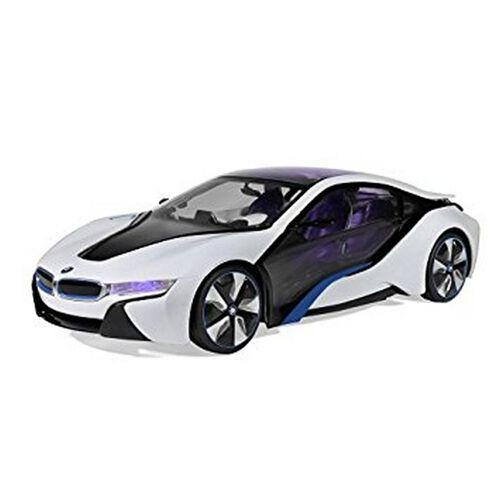 Rastar星輝 1:14 BMW I8遙控車(可遙控開門)