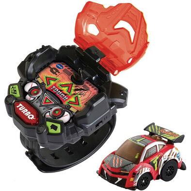 Vtech觸碰式酷炫遙控賽車手錶-紅
