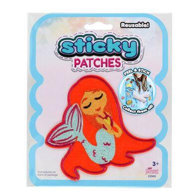 Sticky Patches黏黏補丁 DIY美人魚紡織布貼