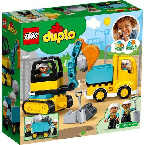 LEGO樂高 10931 卡車 & 挖土機