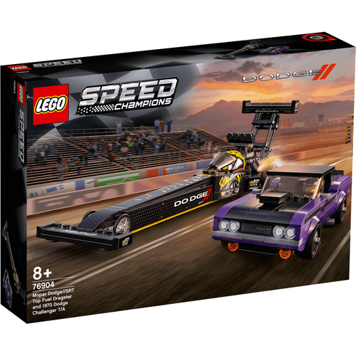 Lego樂高 76904 Mopar Dodge SRT Top Fuel Dragster and 1970 Dodge Challenger T/A