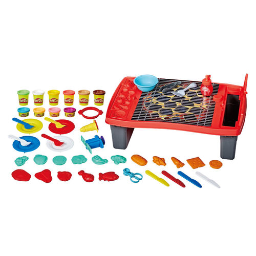 Play-Doh培樂多 廚房系列 烤肉架遊戲組