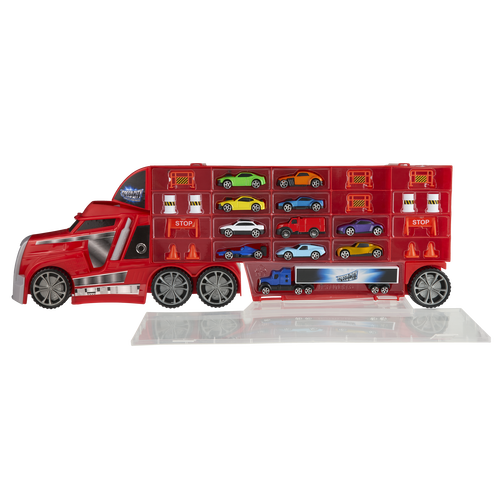 Speed City 極速城市 運輸車(含11台車)
