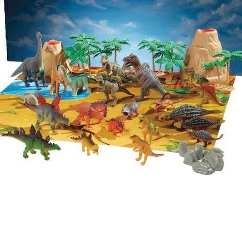 Animal Zone動物叢林 恐龍秀(45PCS)