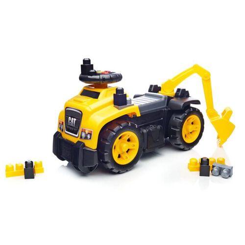 Mega Bloks美高積木3合1挖土機