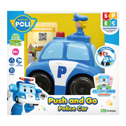Robocar Poli波力救援小英雄波力寶寶警車