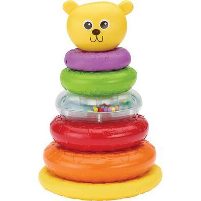 BRU Infant & Preschool 彩虹小熊疊疊樂