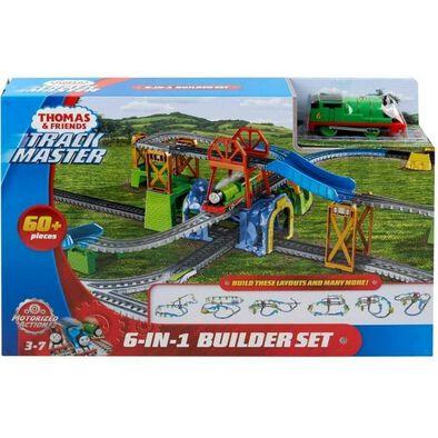 Thomas & Friends湯瑪士小火車 電動六合一軌道組