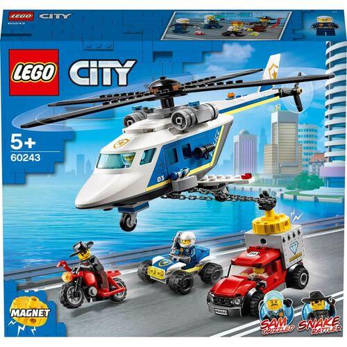 LEGO樂高城市系列 警察直升機追逐戰 60243