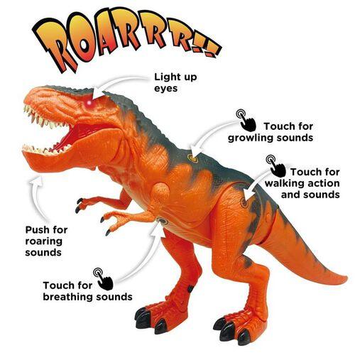 Mighty Megasaur 動物叢林 聲光電動暴龍