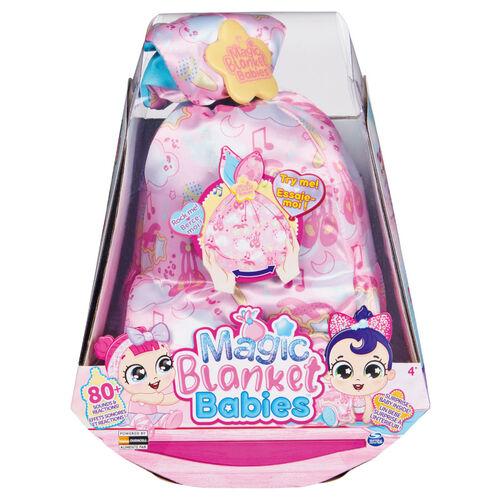 Spin Master互動有聲背巾娃娃-粉色- 隨機發貨
