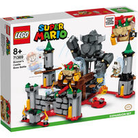 Lego 樂高積木 71369 Super Mario系列 - 庫巴魔王的城堡對決