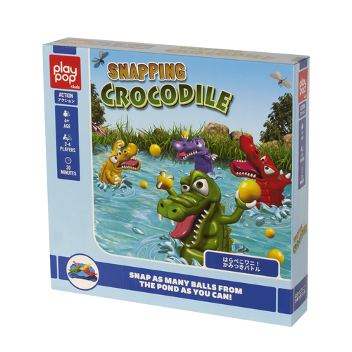 Play Pop 搶食小鱷魚