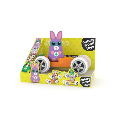J'adore 兔子與胡蘿蔔小車