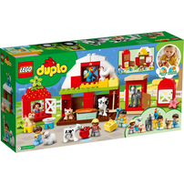 Lego樂高 Duplo Town 10952 農場動物照護中心豪華組